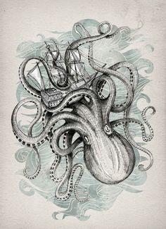 print by David Fleck
