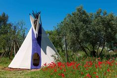 This is one of our luxury American Indian style tipis available on our #Kaliyoga Retreats in Spain   Check out our upcoming retreat calendar & choose from Dynamic Yoga & Hill Walking, Dynamic Yoga Relax & #Raw #Superfood & Yoga retreats.  http://www.kaliyoga.com/yoga-detox-retreats-europe-spain/holiday-retreats/