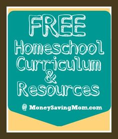 Did you see this HUGE list of homeschool freebies -- free ebooks, printables, curriculum, and so much more??