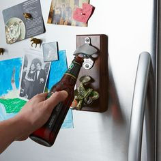 Magnetic Bottle Opener, catches the caps