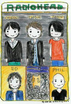 Radiohead art.
