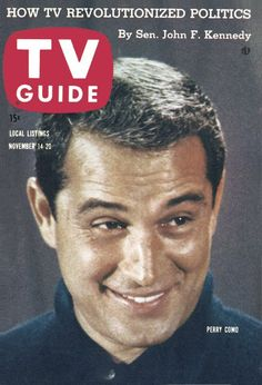 TV Guide, November 14, 1959 - Perry Como