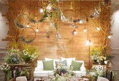 Jay D' Event Stylist By:arncamugao design Wedding Stage, Wedding Show, Wedding Wreaths, Wedding Decorations, Wedding Flowers, Wedding Dresses, Christmas Booth, 8th Wedding Anniversary Gift, Rustic Wedding Backdrops