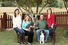 southern family portraits | ABJ Photography | Family and Pet Photography | Alabama Family Photographer