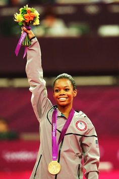 """""""It is everything I thought it would be; being the Olympic champion, it definitely is an amazing feeling.   And I give all the glory to God. It's kind of a win-win situation.   The glory goes up to him and the blessings fall down on me.""""   -Gabby Douglas, after winning gold for the Gymnastics All-Around"""