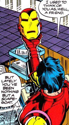 """Iron Man"" #138 (November 1979) -      Art by John Romita Jr. & Bob Layton -      Story by David Michelinie"