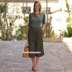 Look de trabalho - look do dia - look corporativo - moda no trabalho - work outfit - office outfit -  spring outfit - look executiva - pantacourt verde - green