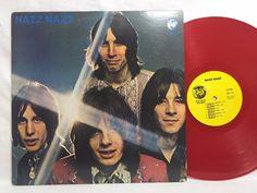 Nazz Nazz Nazz Psych Red Vinyl LP #Vinyl Record Rhino Re-issue Todd Rundgren