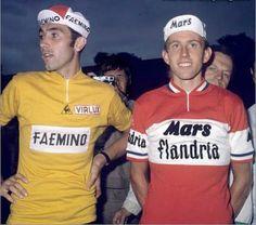 Eddy Merckx y Joop Zoetemelk TdF 1970