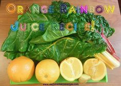 The Orange Rainbow J     The Orange Rainbow Juice Recipe! This is a great tasting juice, and you can find a breakdown of the ingredients on the page!  https://www.pinterest.com/pin/17310779794228978/  Also check out: http://kombuchaguru.com