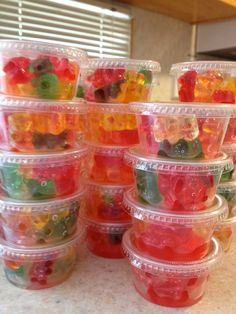 These are great for a party to go along with Jello Shots! See our Jell-O shot…