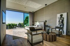 21 Modern Master Bedroom Design Ideas Nice floors and accent walls Modern Master Bedroom, Modern Bedroom Design, Master Bedroom Design, Modern Design, Modern Contemporary, Interior And Exterior, Interior Design, Stylish Interior, Casa Clean