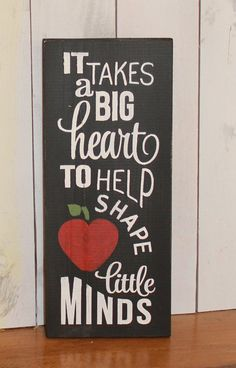 It Takes a big Heart to Help Shape Little by TheGingerbreadShoppe