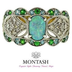 More than 90% of the world's precious #opals come from #Australia! #montashjewellerydesign