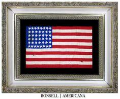 44 Star Antique American Flag | Wyoming Statehood