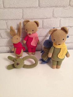Sonajeros de amigurumis de crochet en www.suthings.com  #amigurumi #rattle #sonajero #baby #bebe #crochet #ganchillo #hechoamano #handmade #suthings