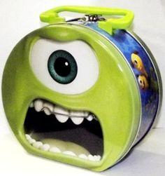Amazon.com: Monsters University Mike Wazowski Metal Tin Box: Kitchen & Dining