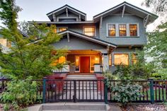 Four Bedroom Craftsman Style Home in Midtown Sacramento sold for $985,00 in Dec 2015