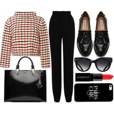 street style by sisaez on Polyvore featuring moda, Rosie Assoulin, Roland Mouret, Steve Madden, Karl Lagerfeld, Casetify, Triwa and Smashbox