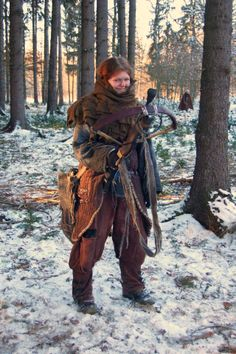 LARP costume - crossbow woman