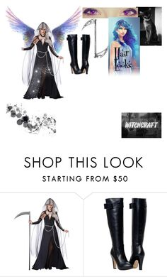 """""""Angel of Darkness"""" by spirit-of-halloween ❤ liked on Polyvore featuring moda"""
