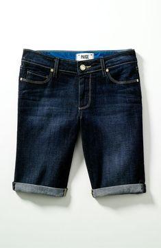 Beach Getaway Essential: Jean Bermuda Shorts #Nordstrom