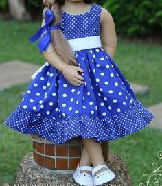 Baby Girl Christmas Dresses, Baby Girl Dresses, Baby Dress, Bebe 1 An, Dress Anak, Baby Frocks Designs, Doll Dress Patterns, Frocks For Girls, American Girl Clothes