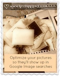Great for showing the world a glimpse of your perfect day.    http://brideappeal.com/_blog/blog/post/photo-mojo-online-visual-marketing-f…