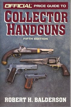 The Official Price Guide to Collector Handguns provides in-depth coverage on handguns of every category, by all makers. It is the only book of its kind, offering extensive information on each gun as well as current prices. Here are vital facts, history, technical data, and important collector information. An added focus on antique handguns makes this book the complete reference to handguns of all types. Paperback Paperback 1997-02-25 ...