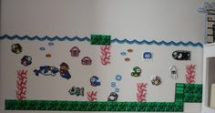 Beads - Mario underwater 2 by acidezabs on DeviantArt