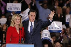 Ann Romney Photos: Mitt Romney Holds Gathering On Night Of Michigan And Arizona Primaries