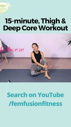 Killer Workouts, Fun Workouts, Core Workouts, Hip Workout, Workout Videos, Exercise Videos, 30 Day Fitness, Printable Workouts, Fit Board Workouts