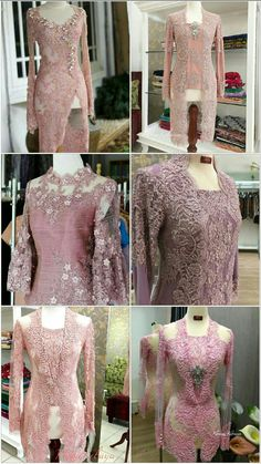 Pesanan K Tiara dan ibu Kebaya Hijab, Kebaya Brokat, Dress Brokat, Kebaya Dress, Batik Kebaya, Kebaya Muslim, Batik Dress, Saree Dress, Disney Wedding Dresses