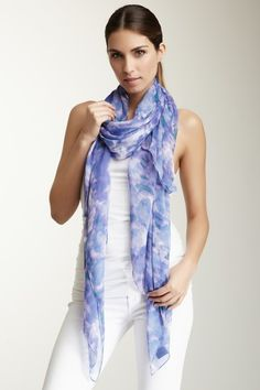 Ronnie Multicolor Fashion Scarf by Warm Weather Accessories on @HauteLook