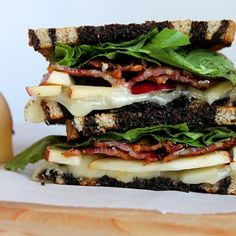Apple, Bacon, & Brie Panini Recipe