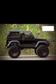 SUZUKI SAMURAI SIERRA. I know it looks like a big toy but I have to get that car, its been a childhood want.:
