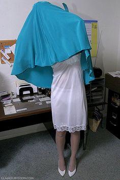 12 Best Office Strip Images Women Satin Slip Night Gown