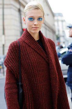 cozy knit topper