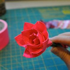 A Duct Tape Flower Bouquet is a great gift kids can make for mom or grandma.