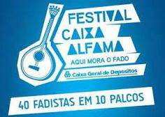 September 20 & 21 - Festival Caixa Alfama - 'Aqui mora o fado' I hope next year it will go live again! At Alfama, the birth place of Fado