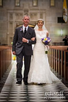 Father and bride walking down the aisle   #Michiganwedding #Chicagowedding…