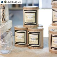 Our friends @deltatraditions so beautifully captured this image of our Tennessee Whiskey Candle.  It's smells as good as it looks. #cheers #southerfirefly #southernfireflycandle #tennessee #arkansas #MadeintheSouth