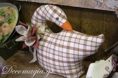 Pillow- duck! Cucito Creativo