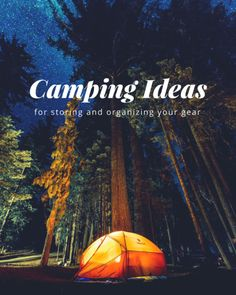 The best storage and organization tips for campers #camping #campingtips #campingtricks #storageideas #organizationideas