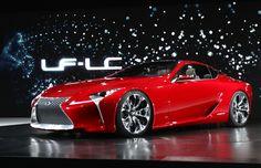 2012 #Lexus LF-LC Concept car