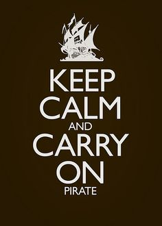 carry on, pirate