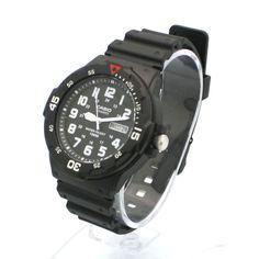 Casio MRW200H Mens 100M Black Diver Classic Sports Watch