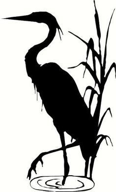 Blue heron on Pinterest | Silhouette, You Left Me and Birds