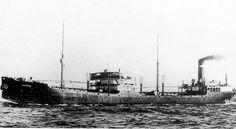 De tanker ss 'Amsterdam' (1922)   van Petroleum Industrie Maatschappij (PIM),  http://koopvaardij.blogspot.nl/2016/04/16-april-1942.html