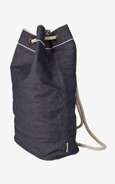 Nudie Jeans Abbesson Ditty Bag Selvage Denim